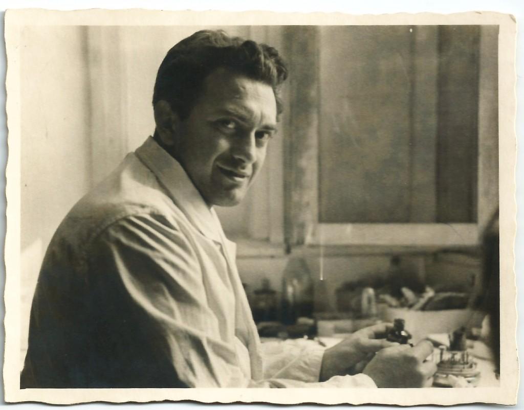אבא בסביבות 1955